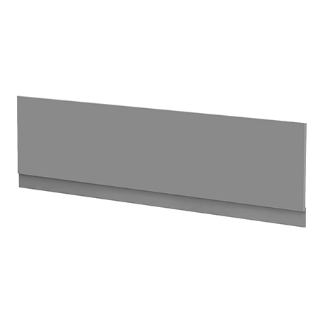 Arezzo Matt Grey Front Bath Panel - 1700mm