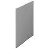 Arezzo Matt Grey L-Shaped End Bath Panel - 700mm profile small image view 1