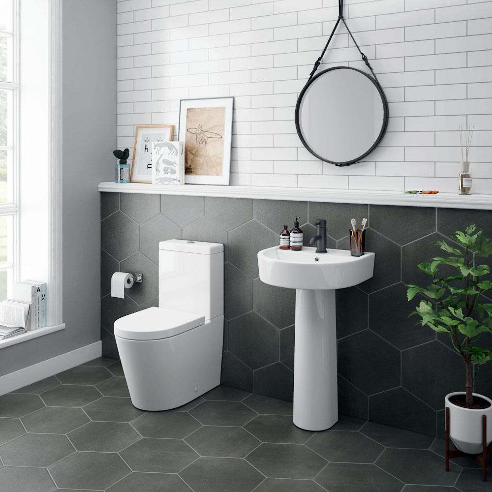 Arezzo 4-Piece Modern Bathroom Suite