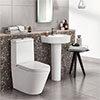 Arezzo 4-Piece Modern Bathroom Suite profile small image view 1