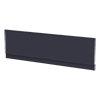 Arezzo Matt Blue Front Bath Panel - 1700mm profile small image view 1