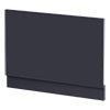 Arezzo Matt Blue End Bath Panel - 800mm profile small image view 1