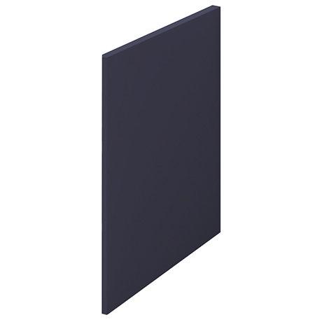 Arezzo Matt Blue L-Shaped End Bath Panel - 700mm