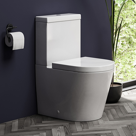 Arezzo BTW Close Coupled Toilet + Soft-Close Seat