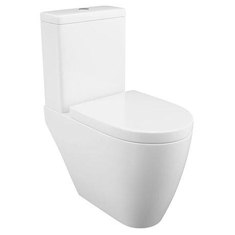 Arezzo Close Coupled Toilet + Soft-Close Seat