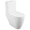Arezzo Close Coupled Toilet + Soft-Close Seat profile small image view 1