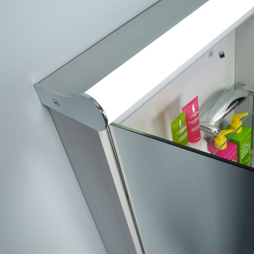 Roper Rhodes Elevate Illuminated Mirror Cabinet - AS231 In Bathroom Large Image