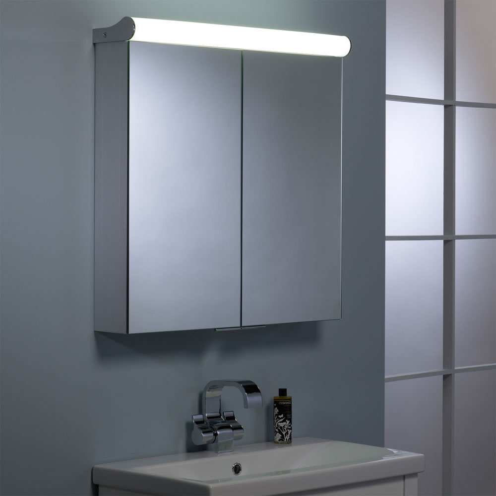 Roper Rhodes Latitude Illuminated Mirror Cabinet - AS232 Feature Large Image