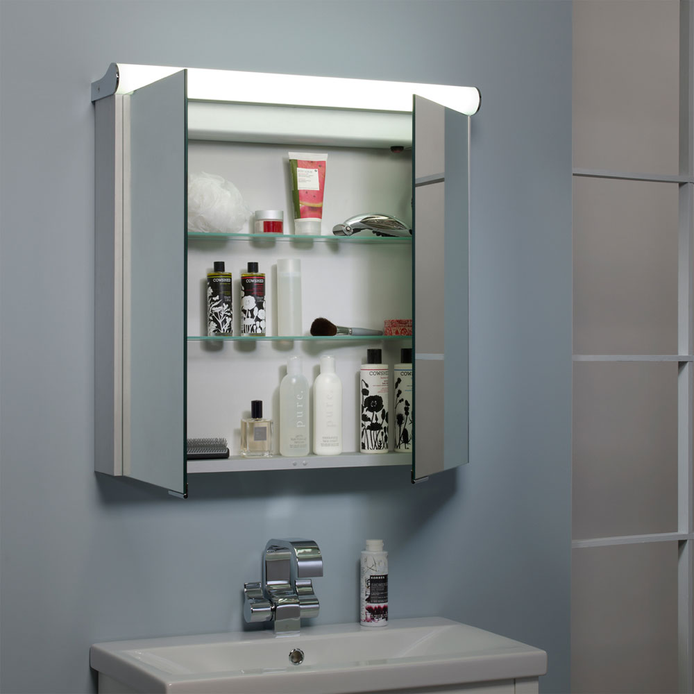 Roper Rhodes Latitude Illuminated Mirror Cabinet - AS232 profile large image view 4