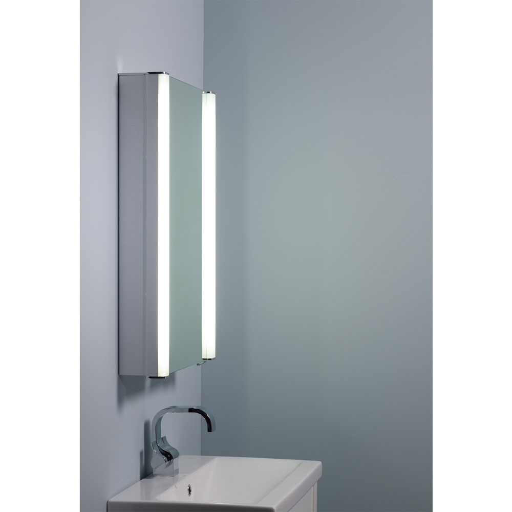 Roper Rhodes Illusion Recessible Illuminated Mirror Cabinet - AS241 profile large image view 4