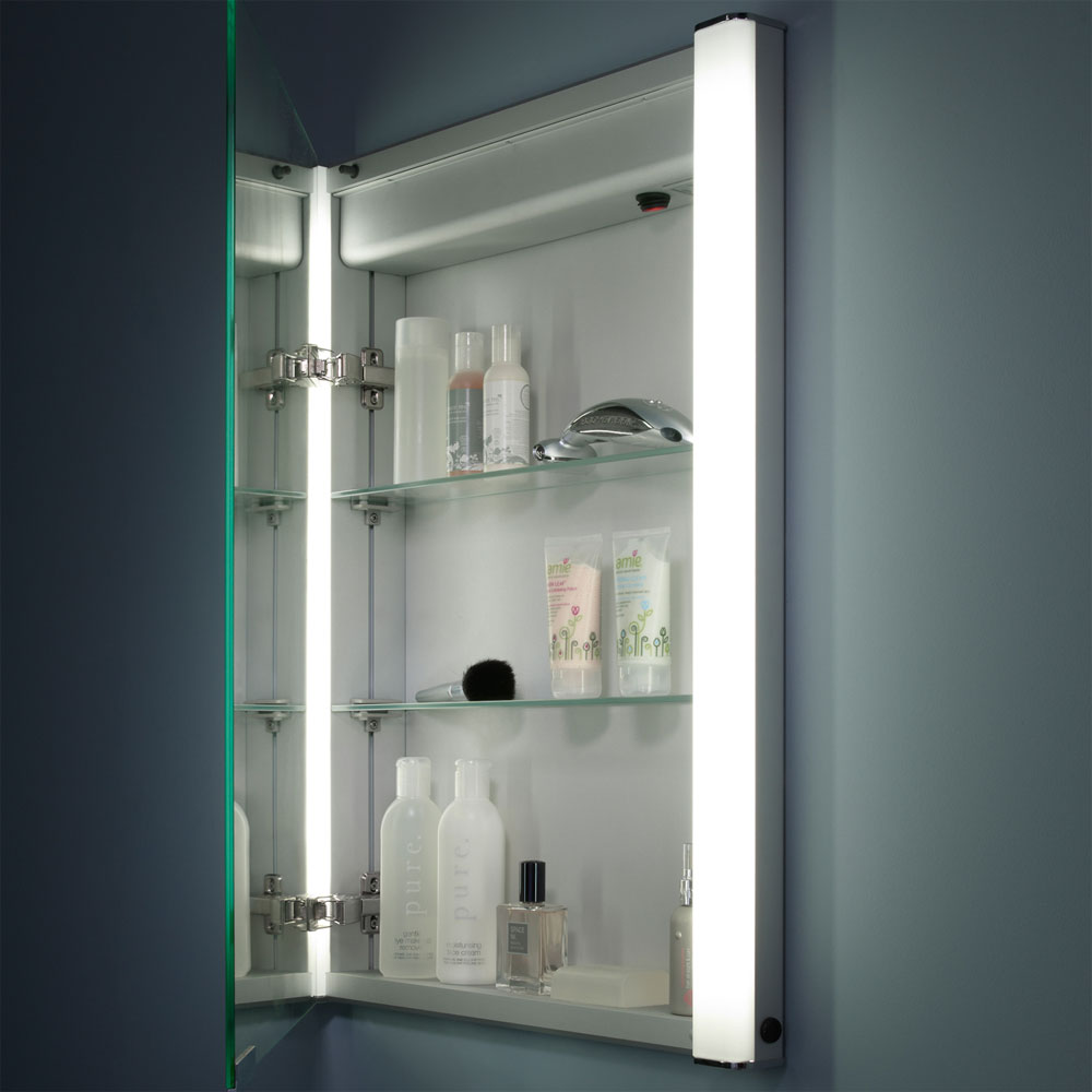 Roper Rhodes Illusion Recessible Illuminated Mirror Cabinet - AS241 profile large image view 6