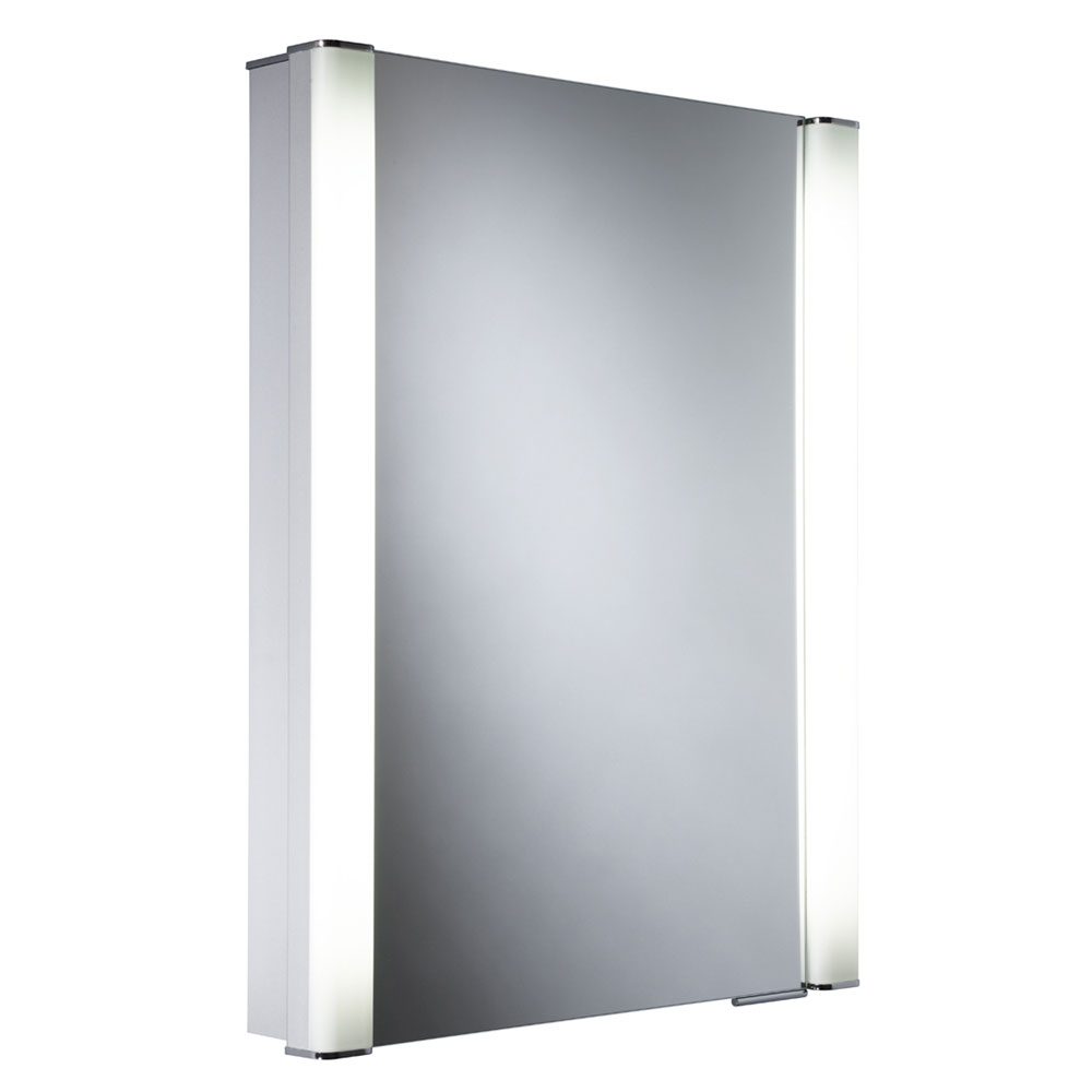 Roper Rhodes Illusion Recessible Illuminated Mirror Cabinet - AS241 Large Image
