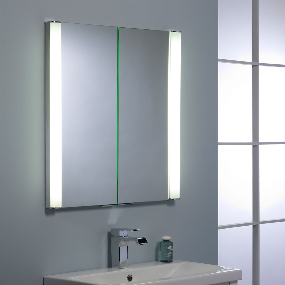 Roper Rhodes Transition Recessible Illuminated Mirror Cabinet - AS242 Standard Large Image