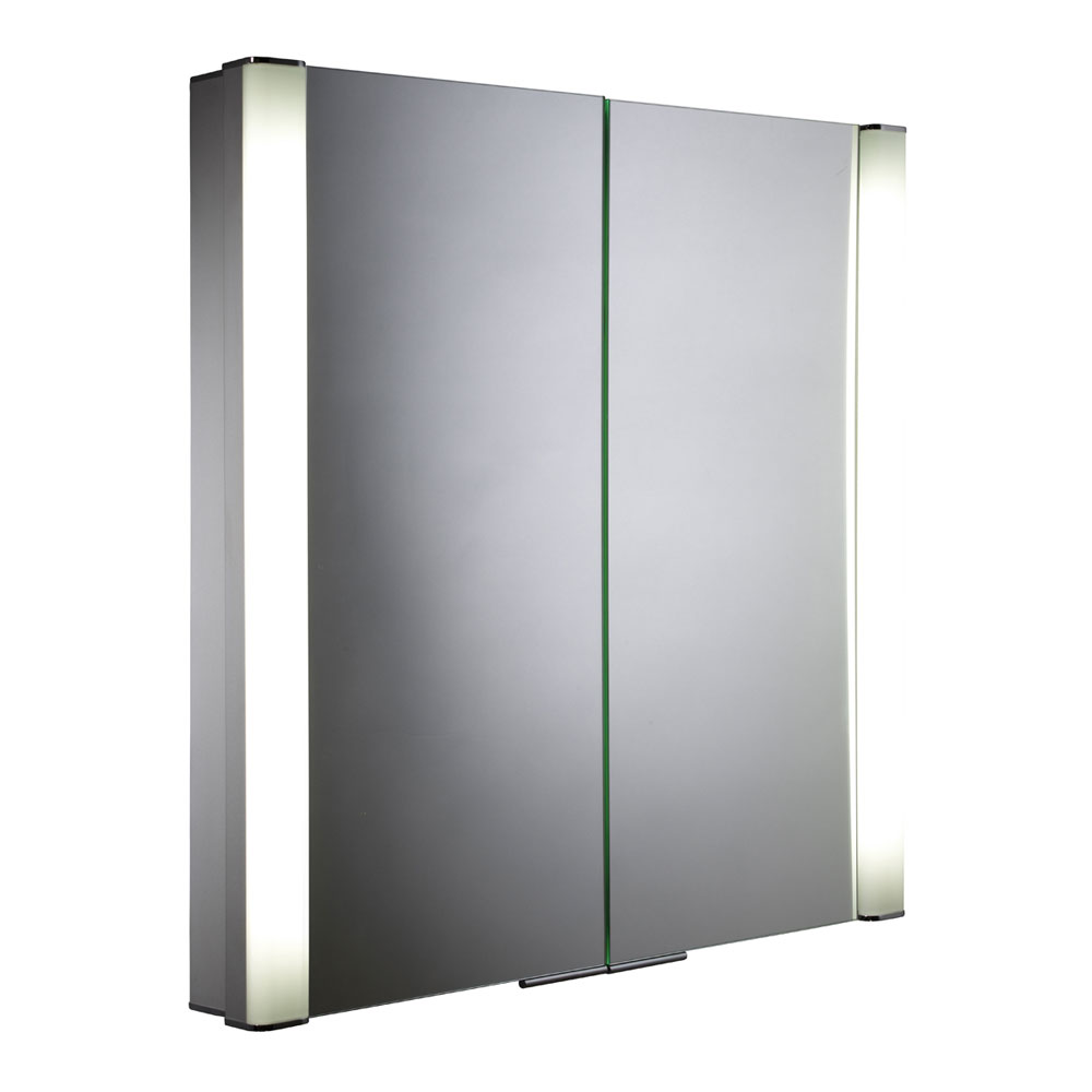 Roper Rhodes Transition Recessible Illuminated Mirror Cabinet - AS242 Large Image