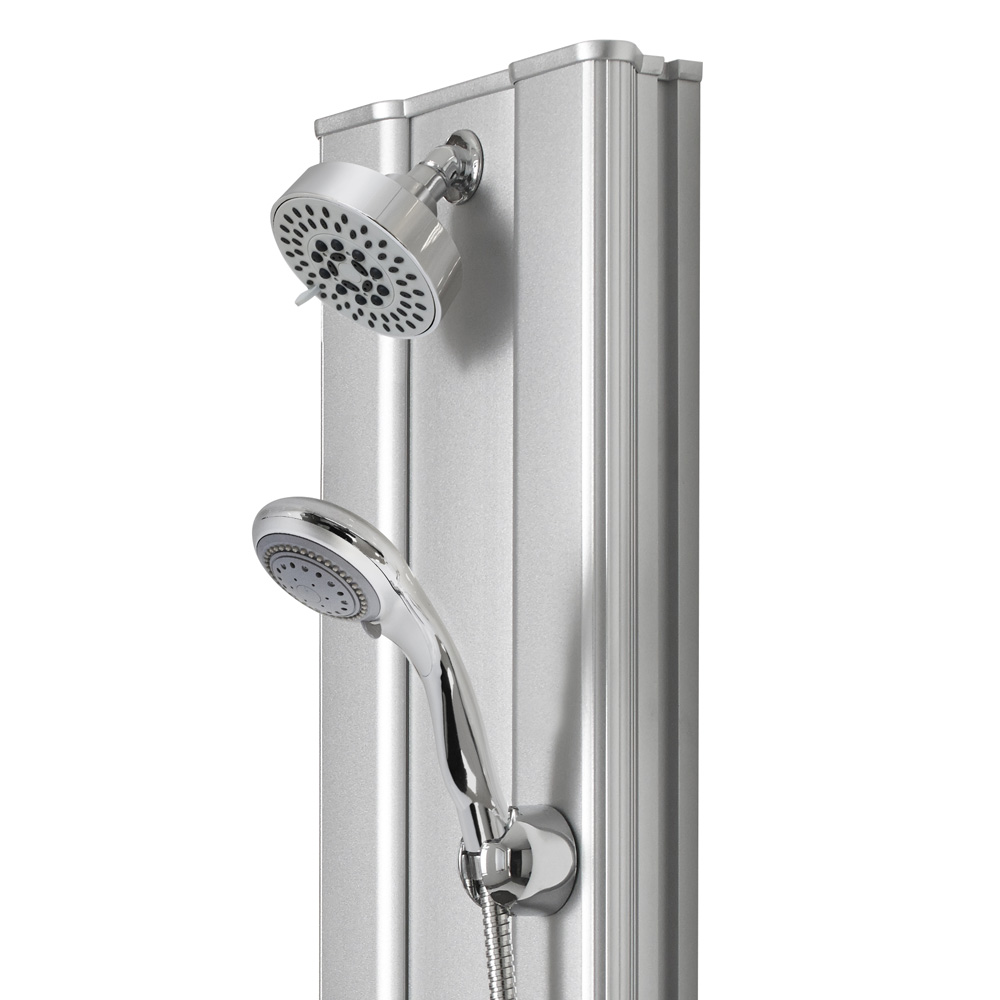 Premier - Thermostatic Shower Panel with Fixed Shower Head, 6 Body Jets & Shower Kit - AS305 profile large image view 3