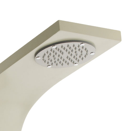Ultra - Nesta Thermostatic Shower Panel - Cream - AS309 Feature Large Image