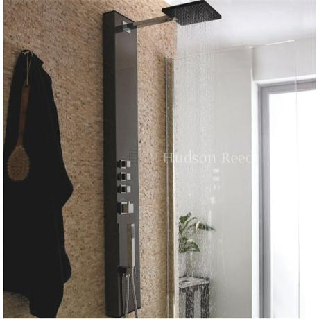 hudson reed dream shower mirage mirror finish as318. Black Bedroom Furniture Sets. Home Design Ideas