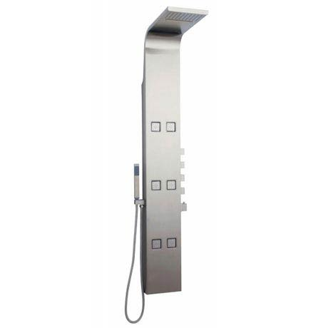 Hudson Reed Astral Thermostatic Shower Panel - Stainless Steel - AS326