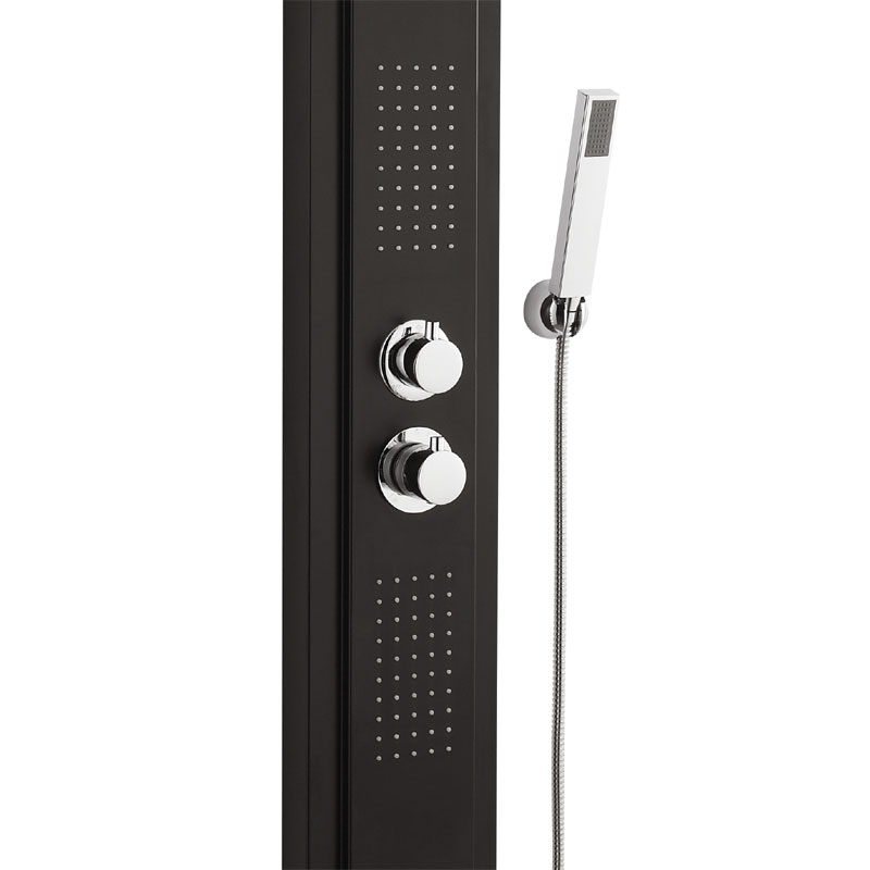 Ultra - Agate Thermostatic Shower Panel - AS377 Feature Large Image