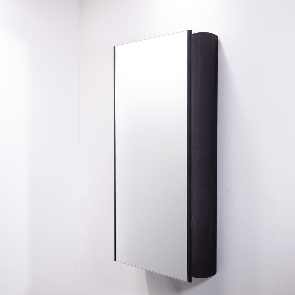Roper Rhodes Limit Slimline Mirror Cabinet - Black - AS415BL profile large image view 3