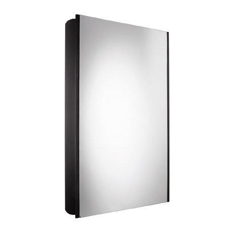 Roper Rhodes Limit Slimline Mirror Cabinet - Black - AS415BL
