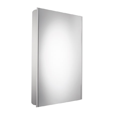 Roper Rhodes Limit Slimline Mirror Cabinet - White - AS415W