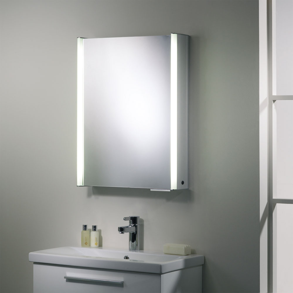 Roper Rhodes Plateau Illuminated Mirror Cabinet - Aluminium - AS515ALIL Newest Large Image