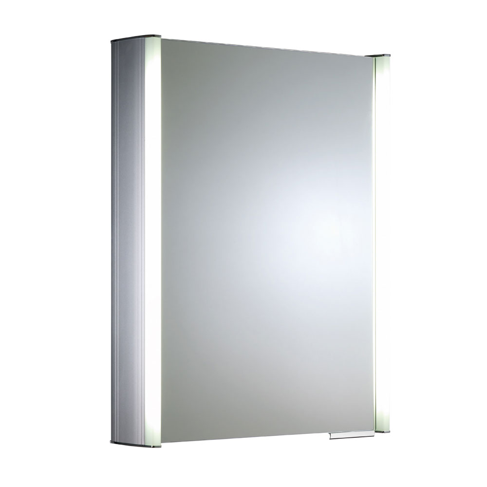 Roper Rhodes Plateau Illuminated Mirror Cabinet - Aluminium - AS515ALIL Large Image