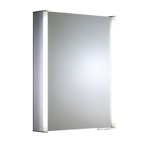 Roper Rhodes Plateau Illuminated Mirror Cabinet - Aluminium - AS515ALIL