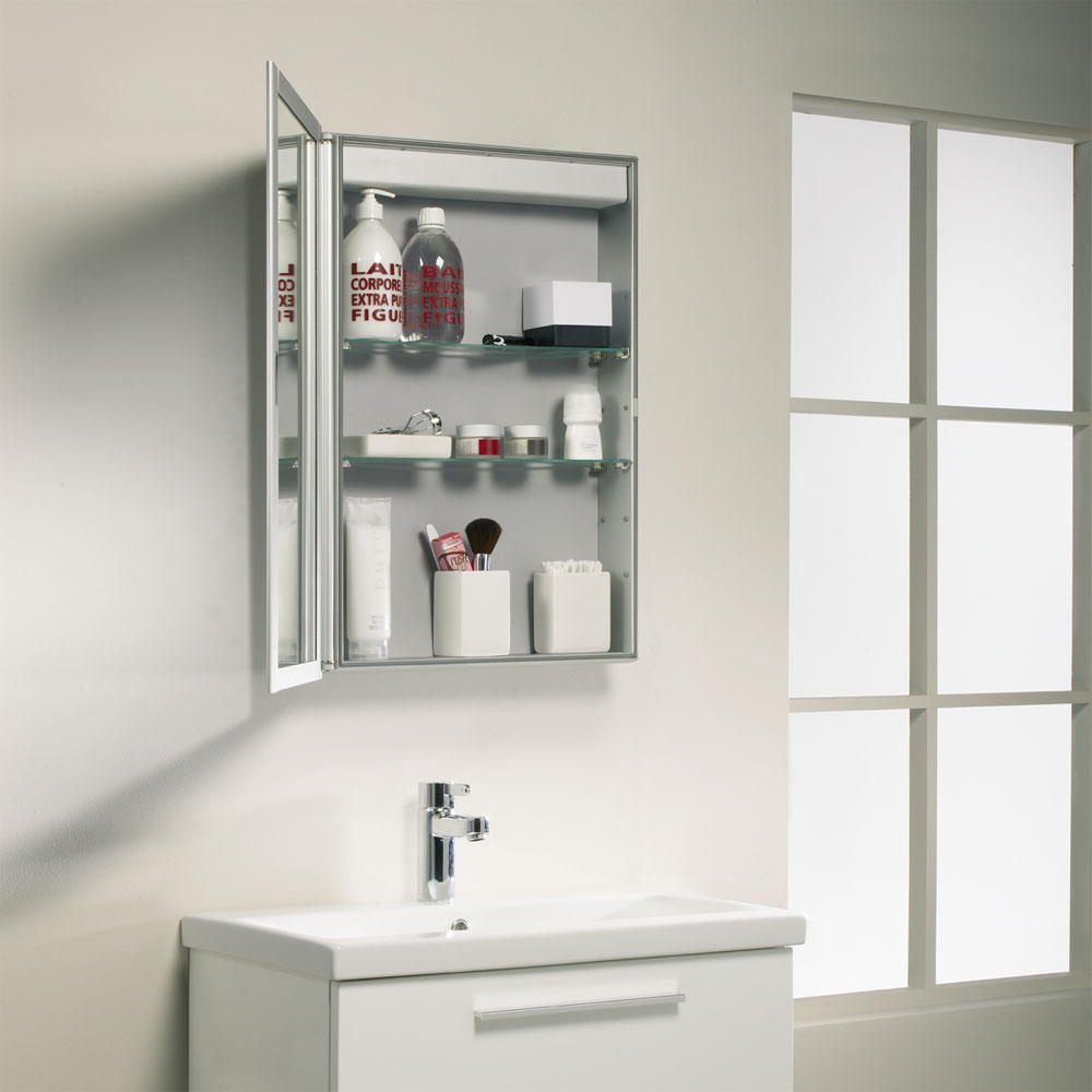 Roper Rhodes Equinox Mirror Cabinet without Electrics - AS515ALP profile large image view 2