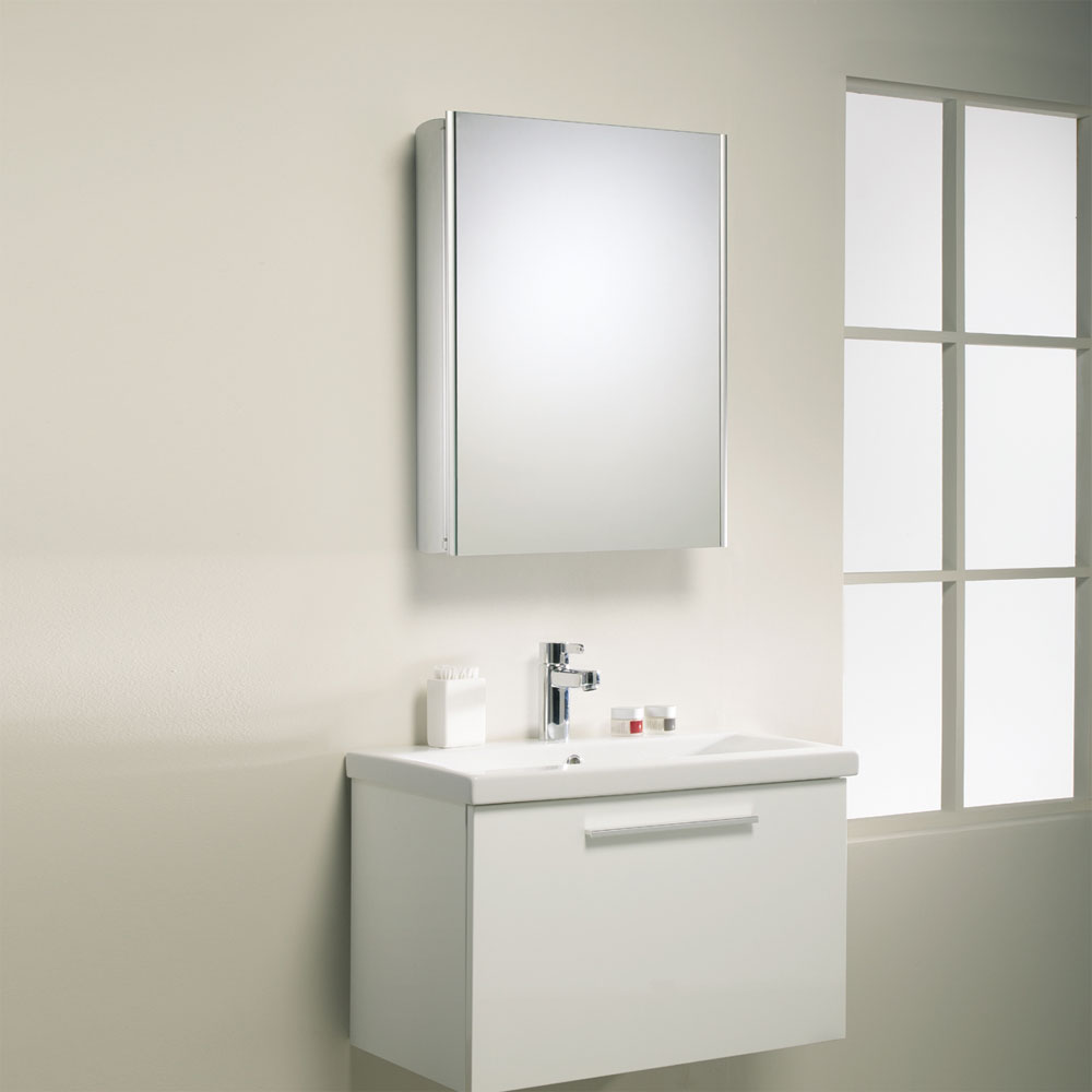 Roper Rhodes Equinox Mirror Cabinet without Electrics - AS515ALP Feature Large Image