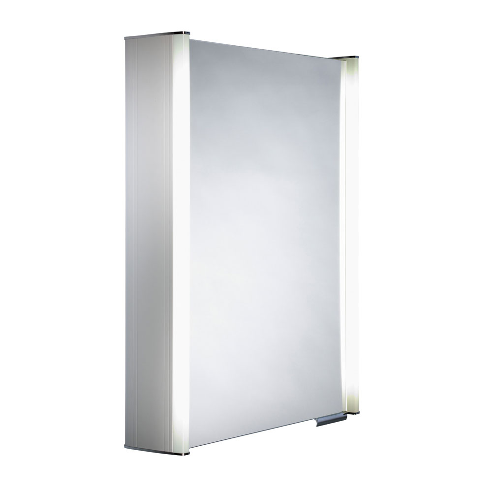 Roper Rhodes Plateau Illuminated Mirror Cabinet - White - AS515WIL Large Image