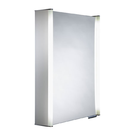 Roper Rhodes Plateau Illuminated Mirror Cabinet - White - AS515WIL