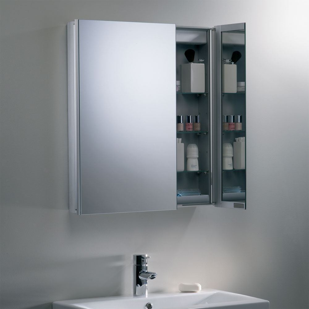 Roper Rhodes Refine Slimline Mirror Cabinet without Electrics - AS615ALSLP profile large image view 3