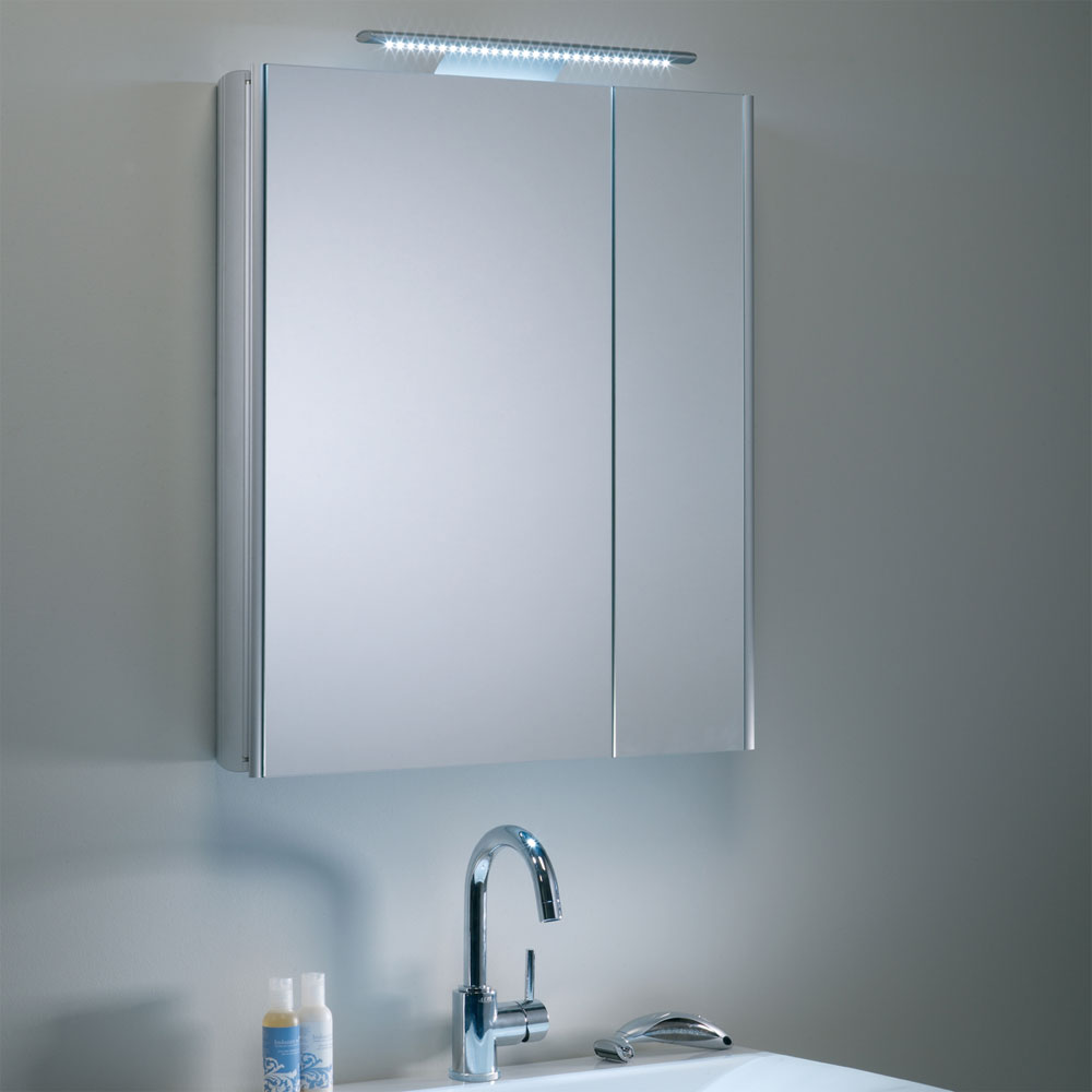 Roper Rhodes Refine Slimline Mirror Cabinet with Electrics - AS615ALSL additional Large Image