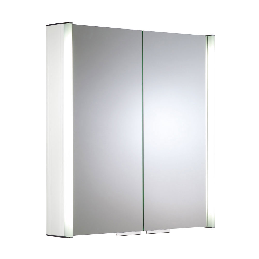 Roper Rhodes Summit Illuminated Mirror Cabinet - White - AS615WIL Large Image
