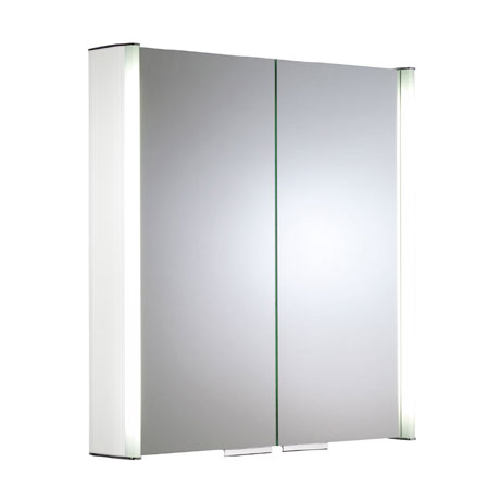 Roper Rhodes Summit Illuminated Mirror Cabinet - White - AS615WIL