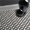 Aspect Black & Ivory Patterned Floor Tiles - 331 x 331mm Small Image