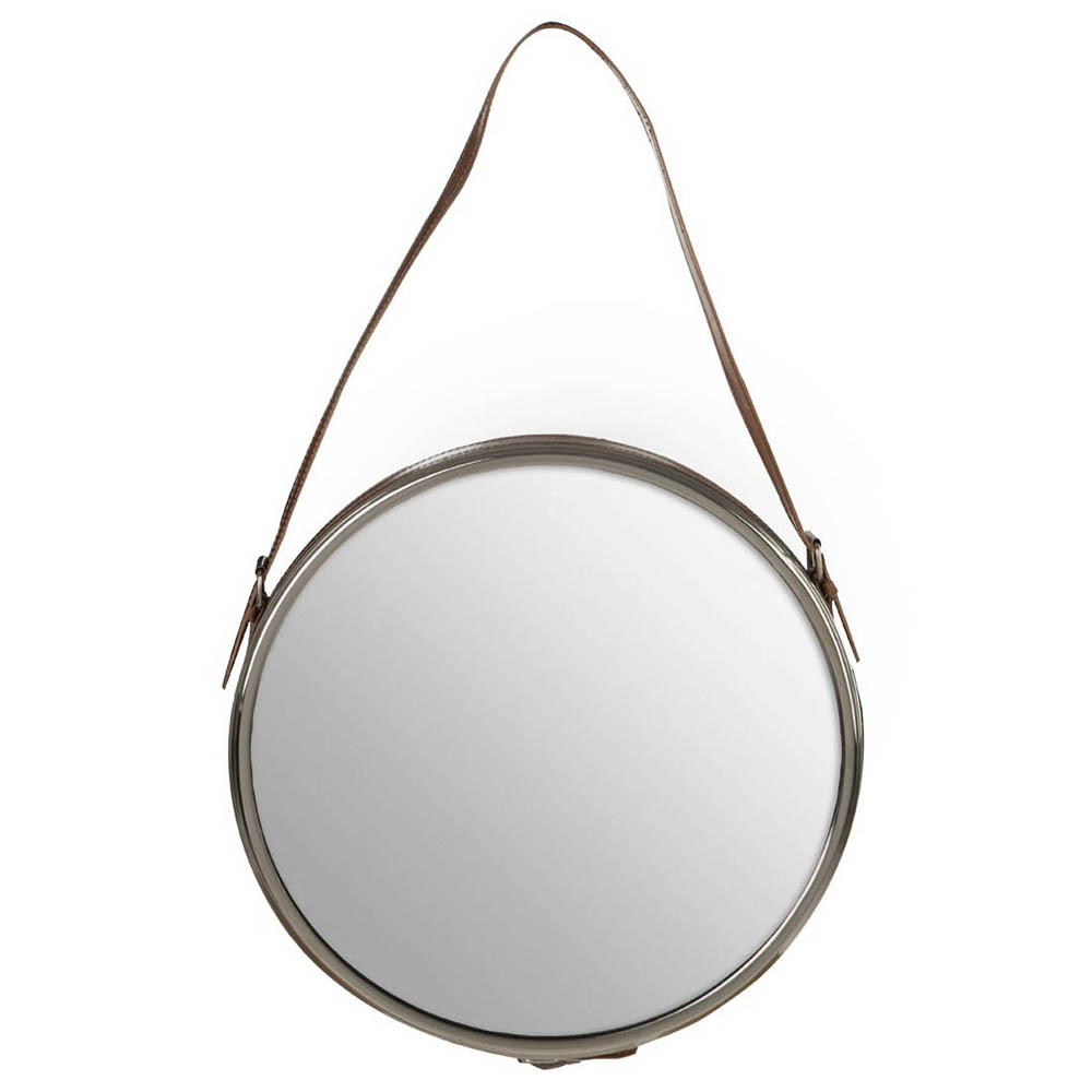 Aspen Round Wall Hung Mirror