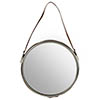 Aspen Round Wall Hung Mirror profile small image view 1