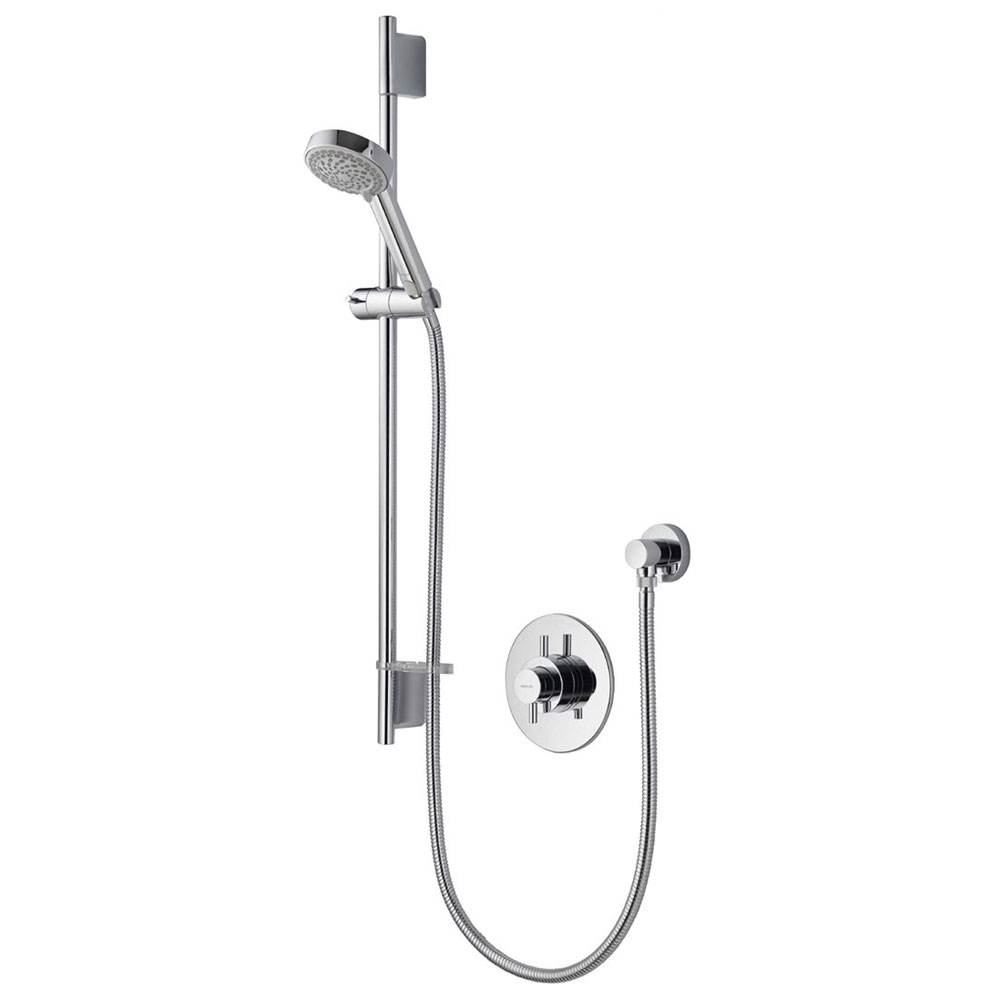 Aqualisa - Aspire DL Concealed Thermostatic Shower Valve with Slide Rail Kit - ASP001CA profile large image view 1