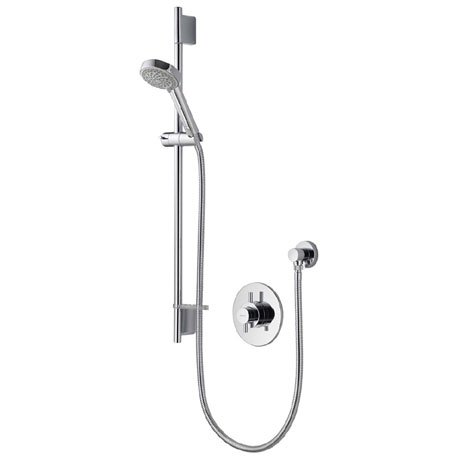 Aqualisa - Aspire DL Concealed Thermostatic Shower Valve with Slide Rail Kit - ASP001CA