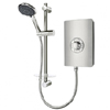 Triton - Aspirante 8.5kw Electric Shower - Brushed Steel - ASP08BRSTL profile small image view 1