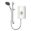 Triton - Aspirante 8.5 kw Electric Shower - White Gloss - ASP08GSWHT profile small image view 1