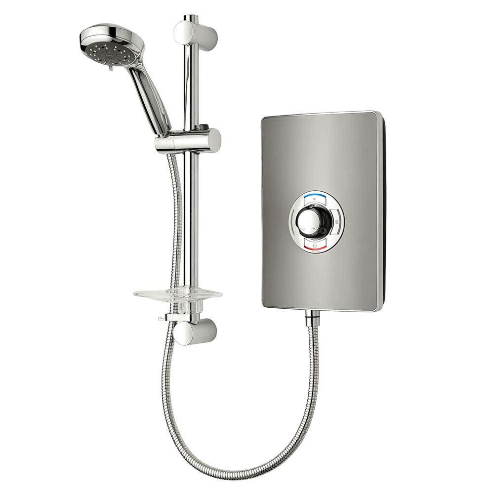 Triton - Aspirante 8.5kw Electric Shower - Gun Metal - ASP08GUNMTL Large Image