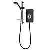 Triton Aspirante 9.5kW Electric Shower - Matte Black - ASP09MTBLK profile small image view 1