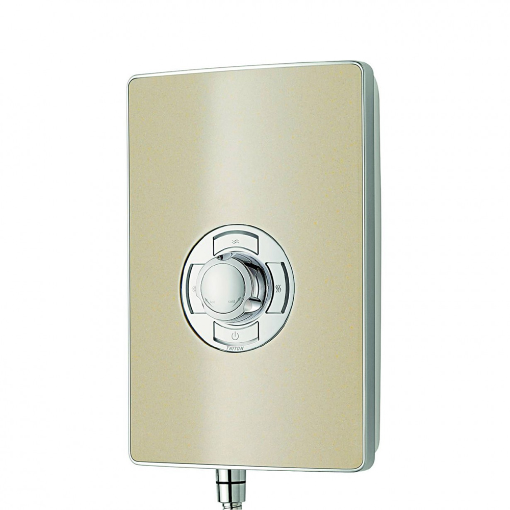 Triton - Aspirante 8.5kw Electric Shower - Riviera Sand - ASP08TLRSD profile large image view 5