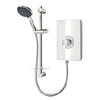 Triton - Aspirante 9.5kw Electric Shower - White Gloss - ASP09GSWHT profile small image view 1