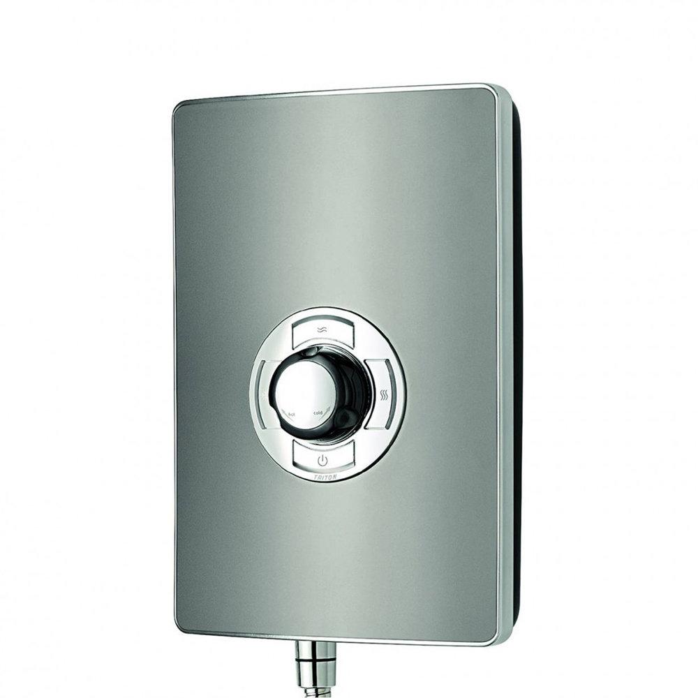 Triton - Aspirante 9.5kw Electric Shower - Gun Metal - ASP09GUNMTL profile large image view 4