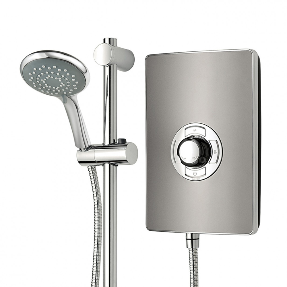 Triton - Aspirante 9.5kw Electric Shower - Gun Metal - ASP09GUNMTL profile large image view 5
